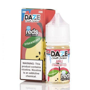7 Daze Salt Reds Strawberry ICED