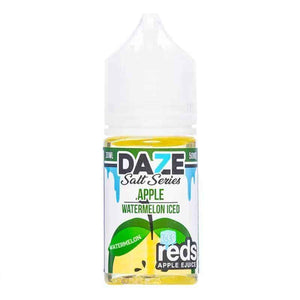 7 Daze Salt Reds Watermelon ICED - 30mL-EJuice-Online