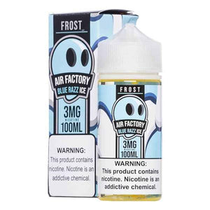 Air Factory Frost Blue Razz Ice - 100mL-EJuice-Online