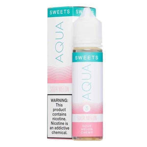 Aqua Sweets Sour Melon - 60mL-EJuice-Online