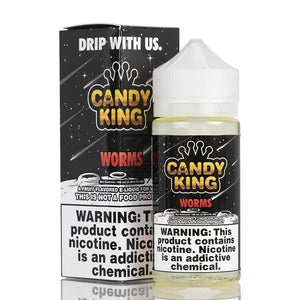 Candy King Worms - 100mL-EJuice-Online