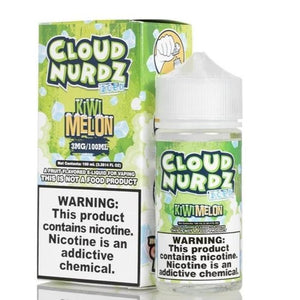 Cloud Nurdz ICED Kiwi Melon - 100mL-EJuice-Online