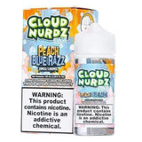 Cloud Nurdz ICED Peach Blue Razz - 100mL-EJuice-Online