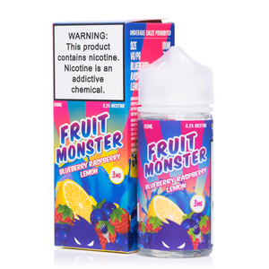 Fruit Monster Blueberry Raspberry Lemon - 100mL-EJuice-Online