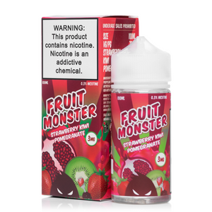 Fruit Monster Strawberry Kiwi Pomegranate - 100mL-EJuice-Online