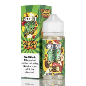 Keep It 100 Peachy Punch - 100mL-EJuice-Online