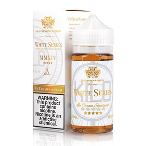 Kilo White Series Ice Cream Sandwich- 100mL-EJuice-Online