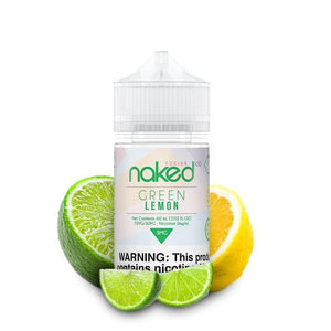Naked 100 Fusion Green Lemon (Sour Sweet) - 60mL-EJuice-Online