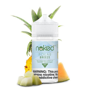 Naked 100 Menthol Polar Breeze (Frost Bite) - 60mL-EJuice-Online