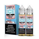Simply Fruit Apple ICE - 120mL-EJuice-Online