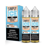 Simply Fruit Peach ICE - 120mL-EJuice-Online