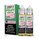 Simply Fruit Strawberry - 120mL-EJuice-Online