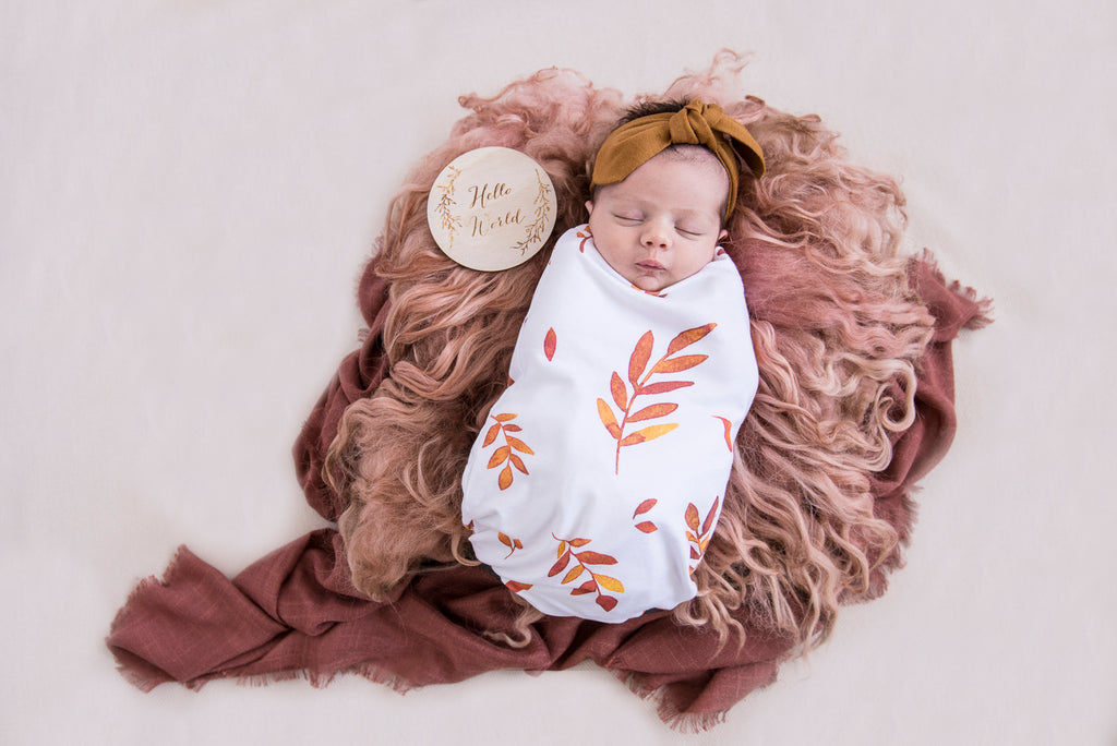 Wildfire Snuggle Swaddle & Beanie Set
