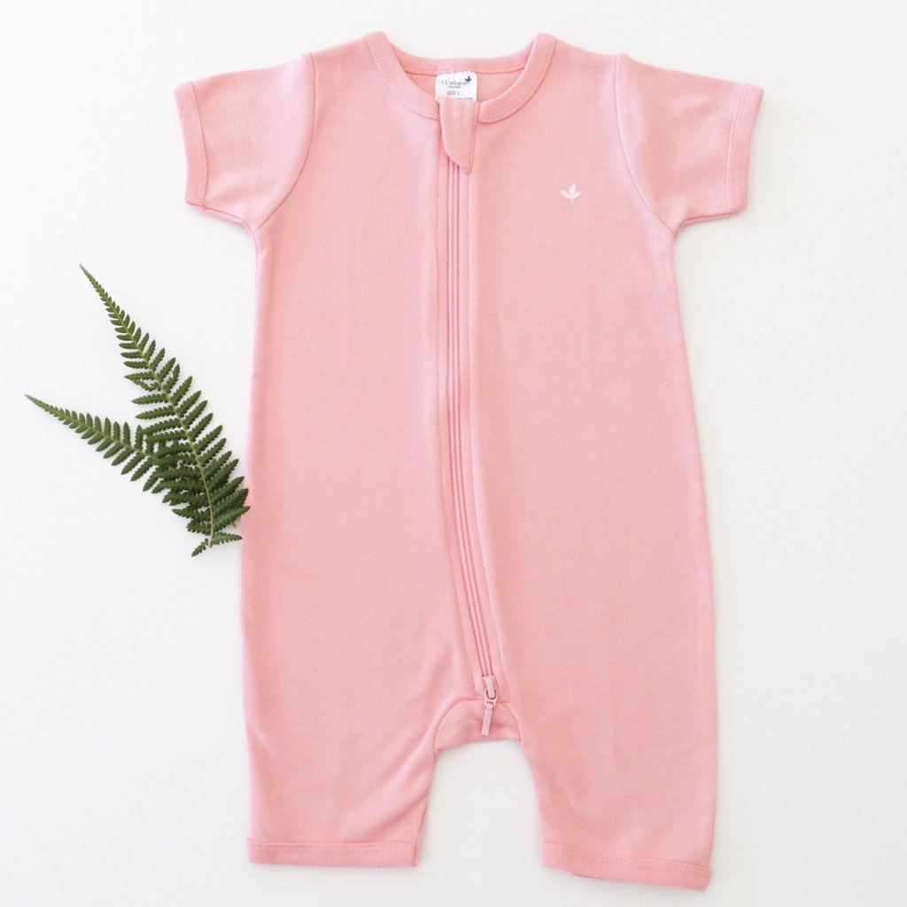 Shortie Romper with Zip