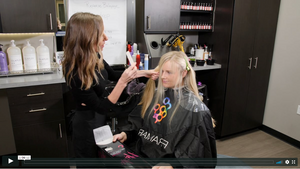 Reverse Balayage Dimension Drop Video Tutorial