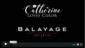 Balayage, Reverse Balayage, & High Contrast Blonde Tutorial Bundle