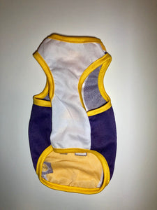 XXL - 6X Basketball Jersey - Yellow/Purple