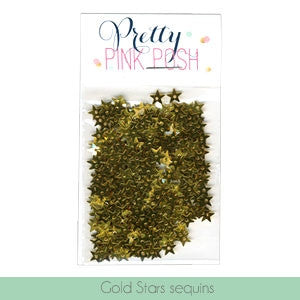 Gold Star Sequins