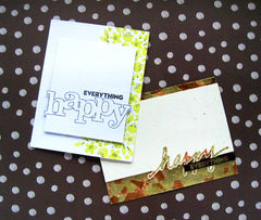 In a Word: Happy (the stamp set)