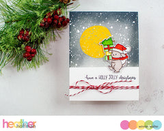 Snowy Holiday with Evelin T Designs Cutaways