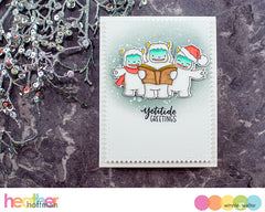 Yetitide Greetings with Evelin T Designs