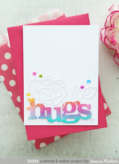 In a Word: Hugs Cutaway