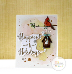 Happiest of Holidays with Evelin T Designs