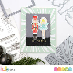Nutcracker Kisses with Evelin T Designs Cutaways