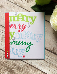 In a Word: Merry (the stamp set)