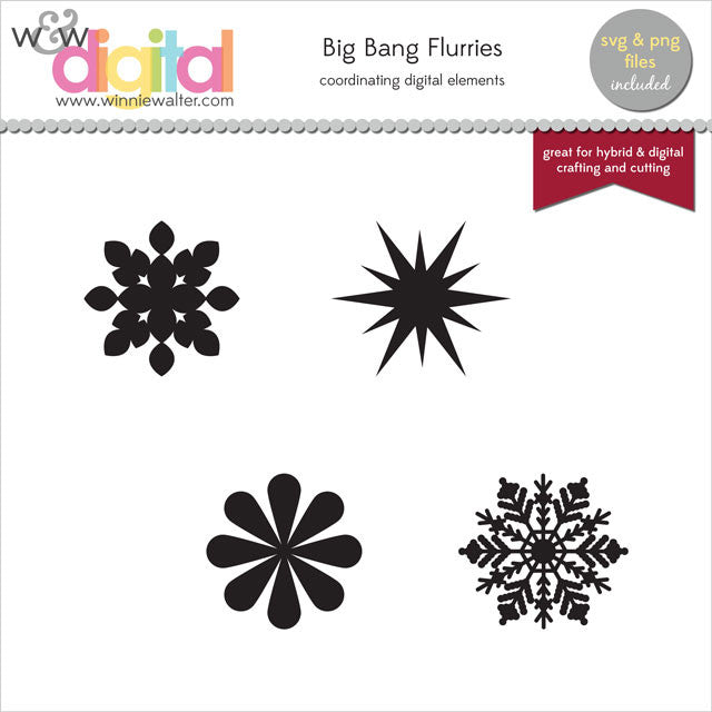 Scenery: Big Bang Flurries Digital Elements