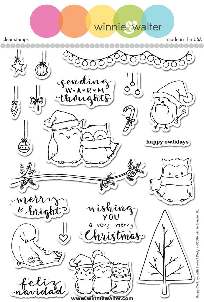 Happy Owlidays with Evelin T Designs