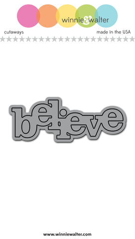 In a Word: Believe Cutaway