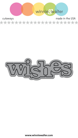 In a Word: Wishes Cutaway
