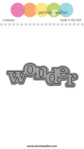 In a Word: Wonder Cutaway