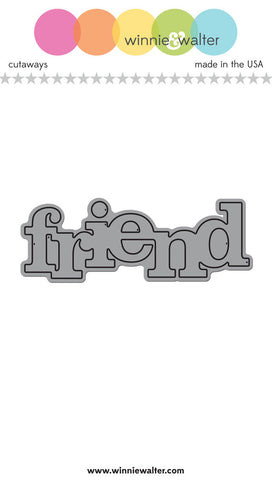 In a Word: Friend Cutaway
