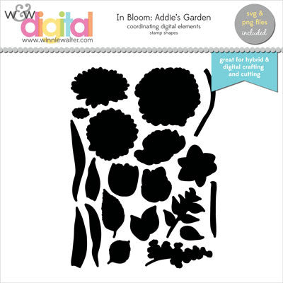 In Bloom: Addie's Garden Digital Elements