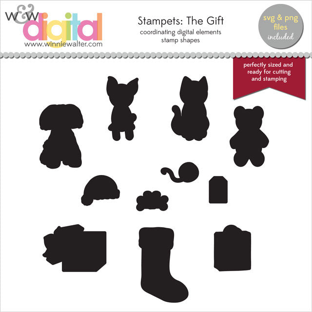 Stampets: The Gift Digital Elements