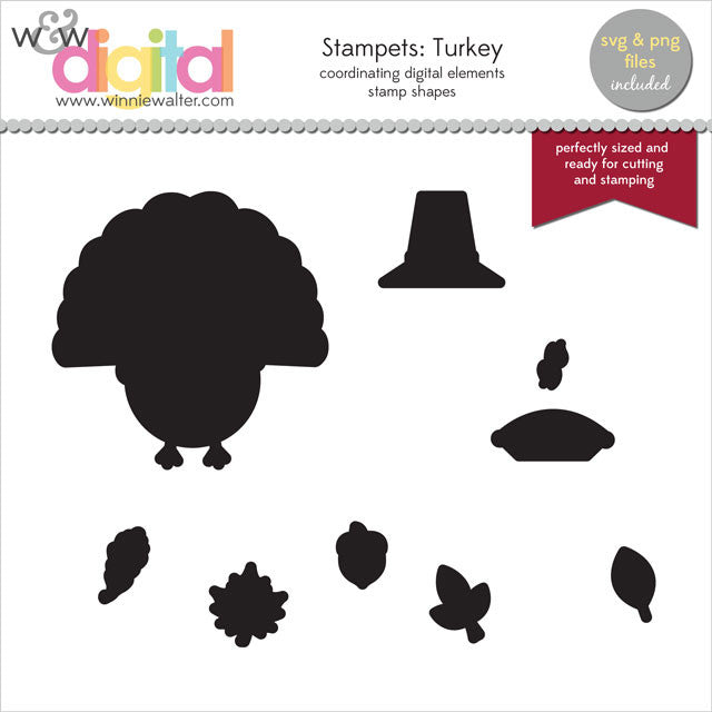 Stampets: Turkey Digital Elements