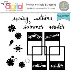 The Big, the Bold and Seasons Digital Elements