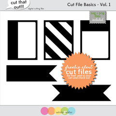 Cut File Basics Vol. 1 Cut Files