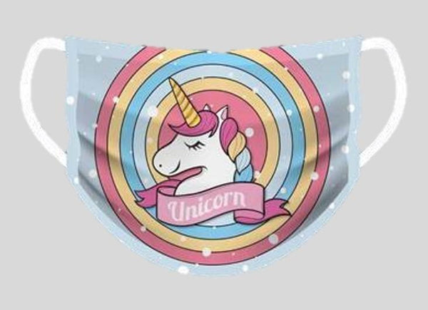 Unicorn Face Cover