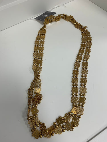Tory Burch Necklace Gold