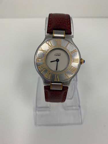 CARTIER - Must de Cartier - REf.9011- woman - 1990-1999