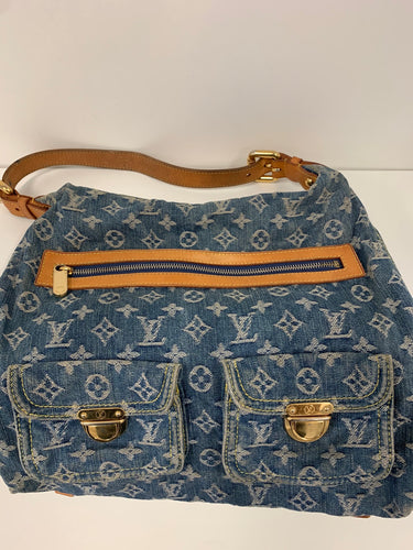 Louis Vuitton denim baggy pm