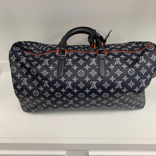 Louis Vuitton 2018 Monogram Upside Down Keepall Bandoilere 50