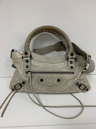 BALENCIAGA MOTOCROSS CLASSIC CITY LEATHER HANDBAG