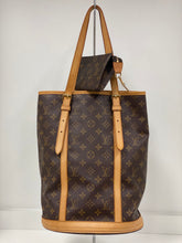 Load image into Gallery viewer, LOUIS VUITTON MONOGRAM BUCKET GM BAG