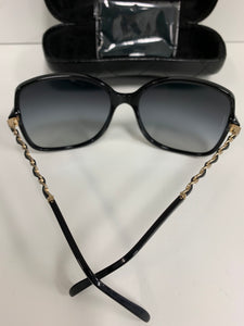 CHANEL Alternate fit double C logo sunglasses