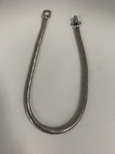 40g Silver beautiful rope necklace vintage