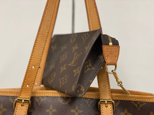 LOUIS VUITTON MONOGRAM BUCKET GM BAG